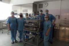 Exkurze na oddělení Centrální sterilizace ÚVN - obor Ošetřovatel 23. 6. 2020