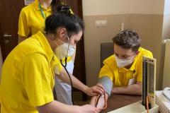 Ošetřovatelé na odborné praxi
