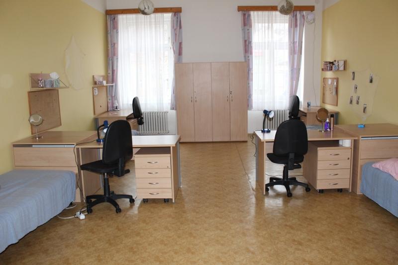 Pokoje DM sekce středoškolačky