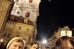Večerní Praha   - Hrad 1.10.2020
